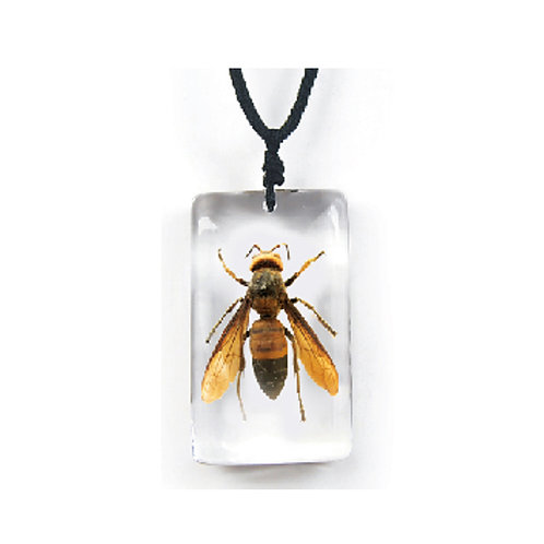 Yellow Jacket Necklace