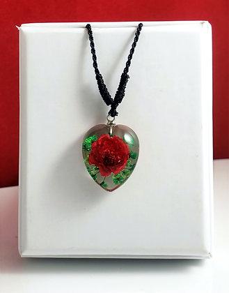 Rose Flower Clear Heart