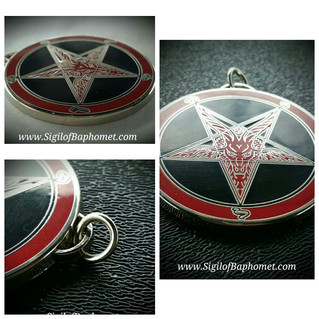 The NEW Sigil of Baphomet Pendant - A NEW STANDARD in Satanism