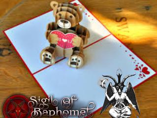 Baphomet Pop Up Greeting Card
