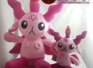 Baphomet Plush Dolls