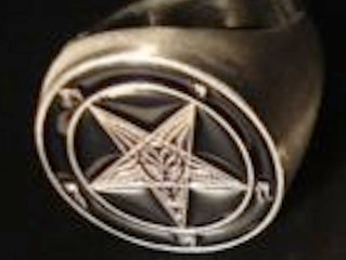The Sigil of Baphomet RING!!