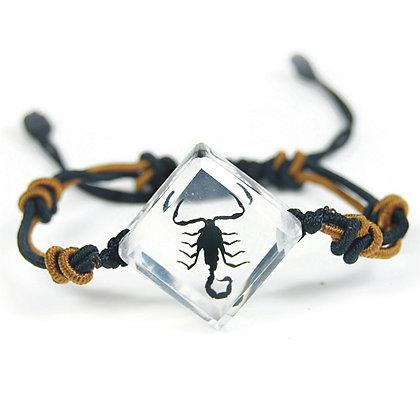 Bracelet Triangular Black Scorpion