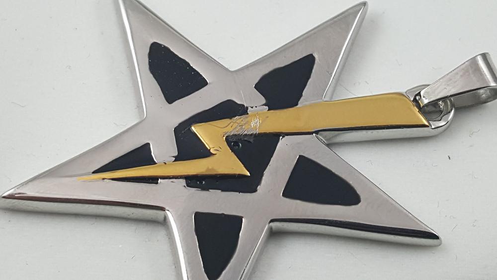 Damaged SoAL pendant.
