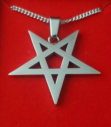 Pentagram V2 - Silver