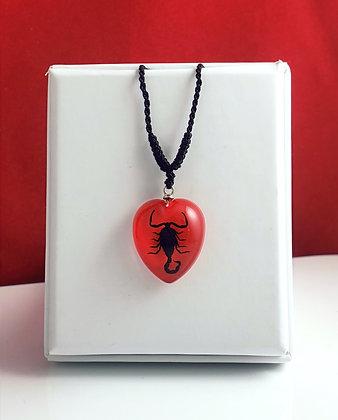 Scorpion Heart - Red