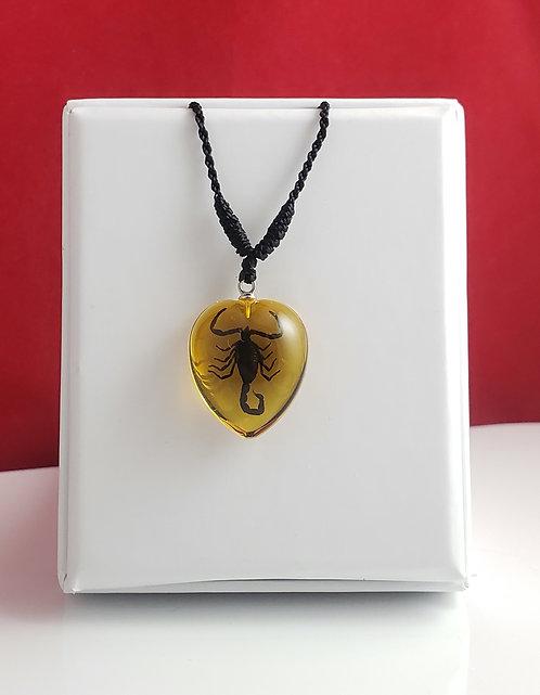 Black Scorpion - Gold Heart