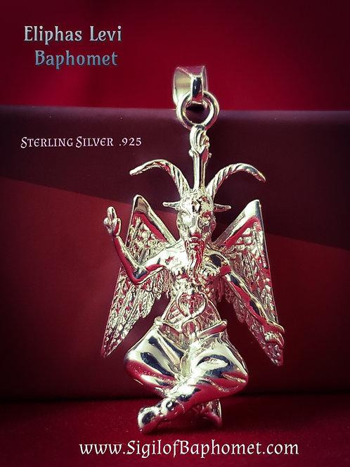 Eliphas Levi Baphomet Sterling .925