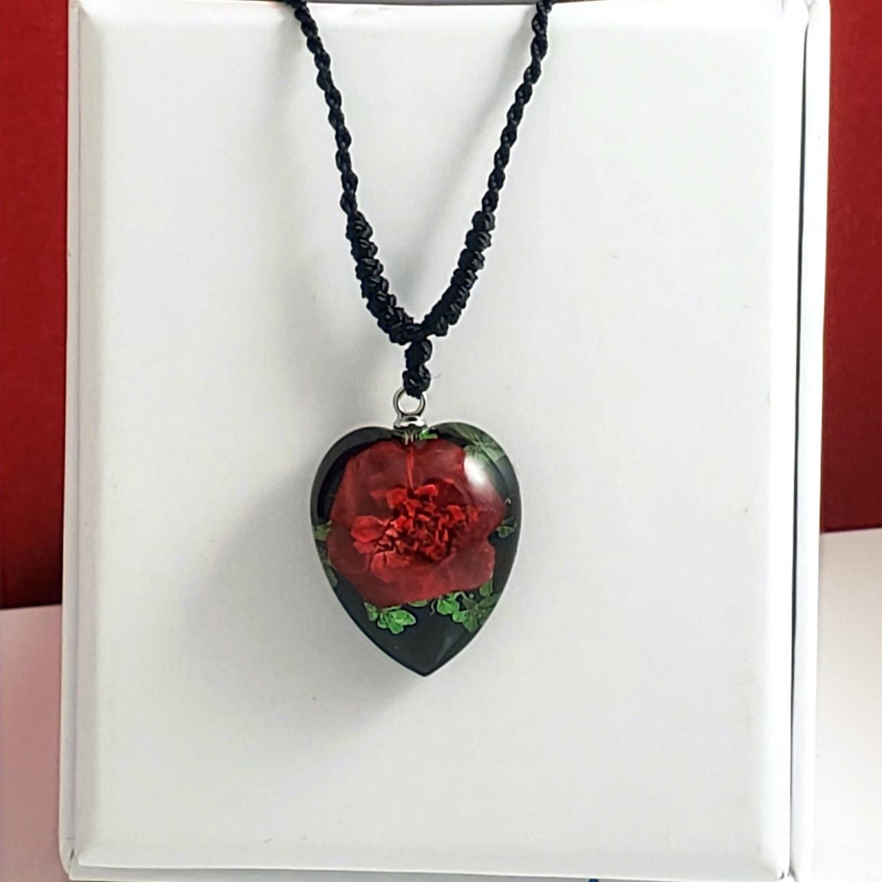 Rose Black Heart