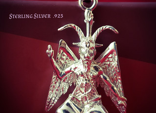 Eliphas Levi Baphomet Sterling Silver .925