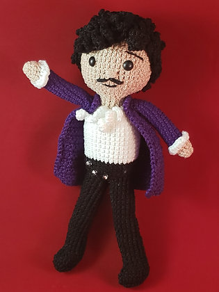 Prince Crochet Doll