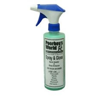 Poorboy's World Spray and Gloss 16oz