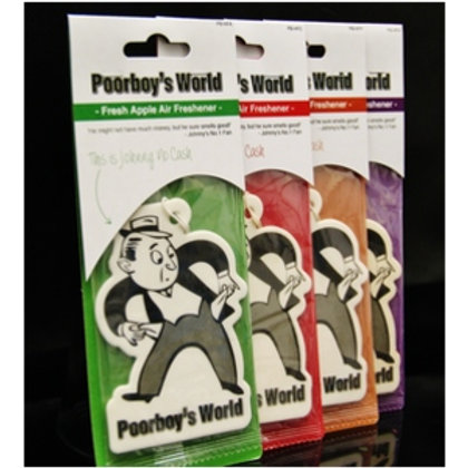 Poorboy's World Hanging Air Freshener - Mr Poorboy