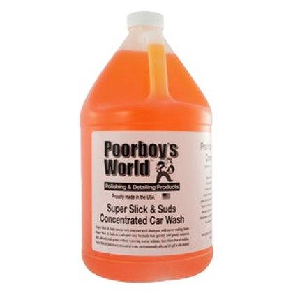 Poorboy's World Super Slick & Suds Car Wash 128oz