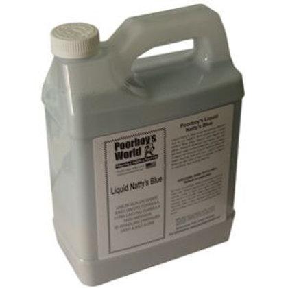 Poorboy's World Liquid Natty's Wax Blue 128oz