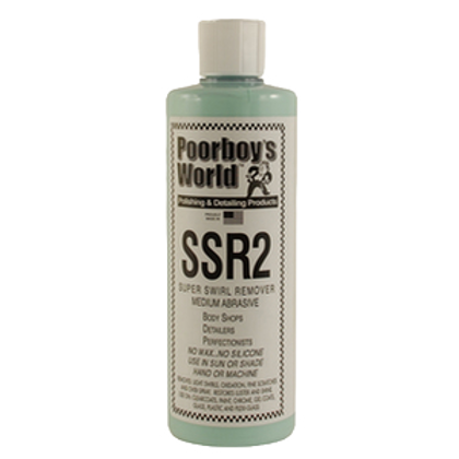 Poorboy's World SSR2 Super Swirl Remover 16oz