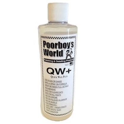 Poorboy's World QW+ Quick Wax Plus 1GALLON