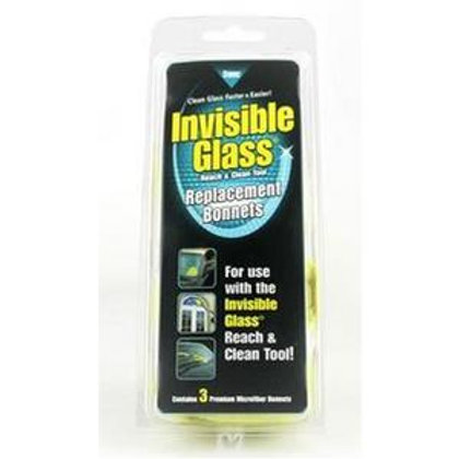 Invisible Glass Reach and Clean Tool - Replacement Bonnets