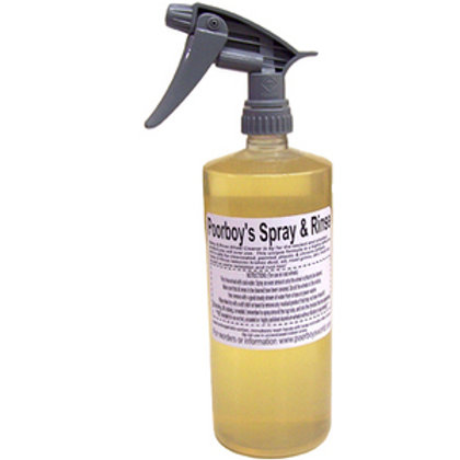Poorboy's World Spray and Rinse Wheel Cleaner 32oz