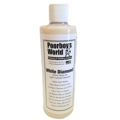 Poorboy's World White Diamond Show Glaze 16oz