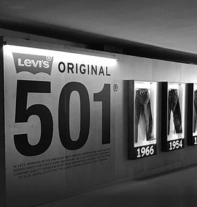 LEVI'S 501 INSTALLATION