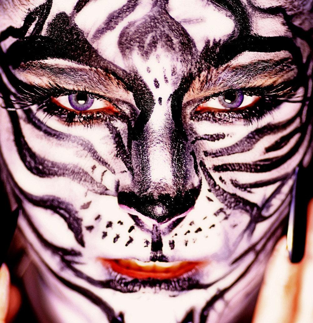 Halloween Makeup Full Face