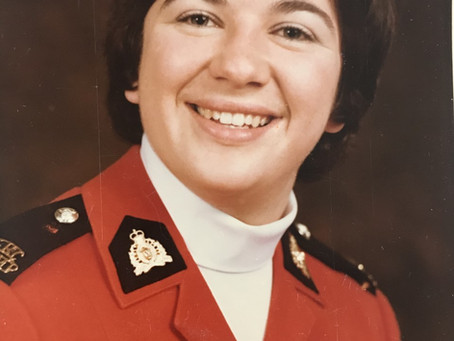 Inspector Trudy Murray: The longest serving female RCMP police officer in Canada