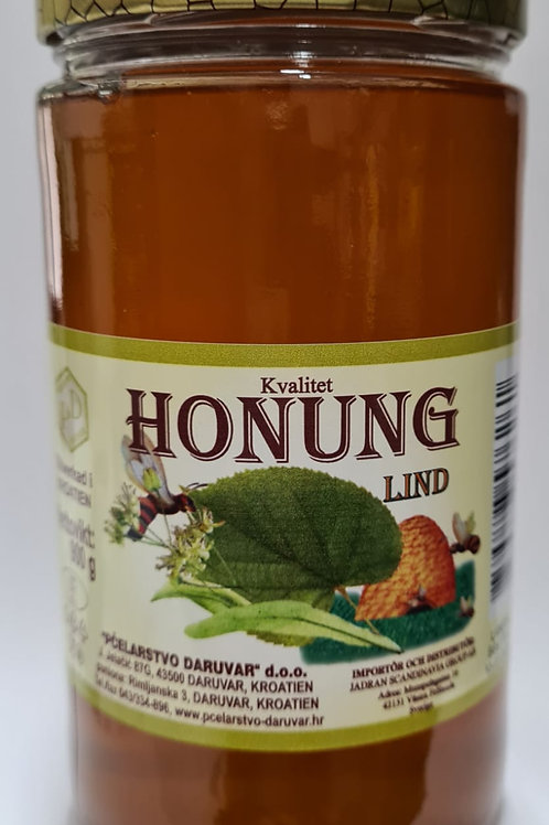 MED LIPA - LIND HONUNG 900 g