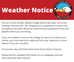 Weather Notice