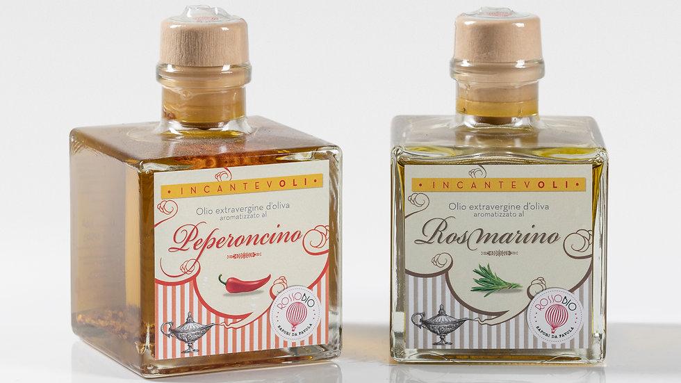 Olio peperoncino + Olio rosmarino