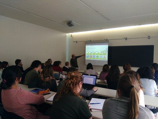 Presented the project in a Postgraduate Course of the University of Girona Foundation