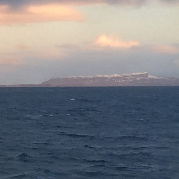 Eigg in winter