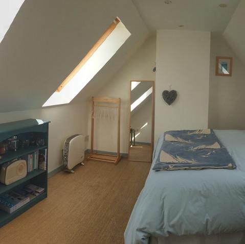 Panaramic photo Bedroom