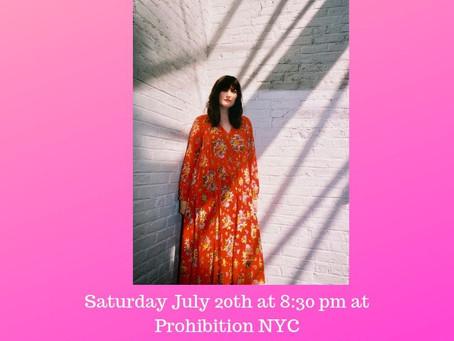 Meghan Pulles Summer Shows 2019