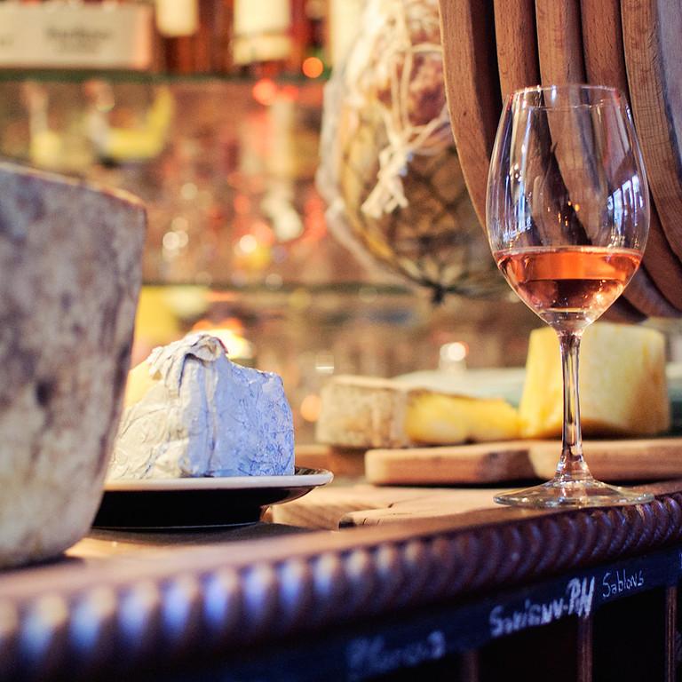 Serata di vino e formaggi