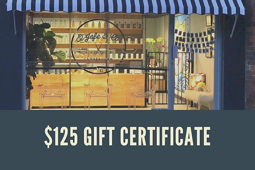 $125 Gift Certificate