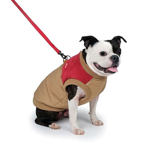 Corduroy Harness Jacket In Beige