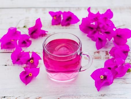 Como elevar nuestro sistema  inmunitario con agua de flores de Trinitarias (Buganvilla) con limón