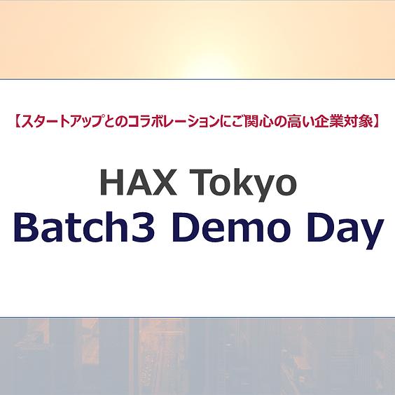 HAX Tokyo Batch3 Demo Day