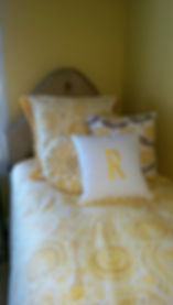 yellow bedding custom