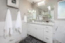 gray bathroom remodel