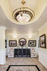 Entryway dramatic parsons chairs