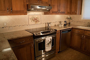 kitchen electric stove