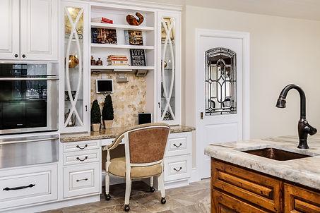 tuscan kitchen remodel desk
