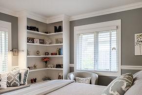 book shelf teen room gray grey