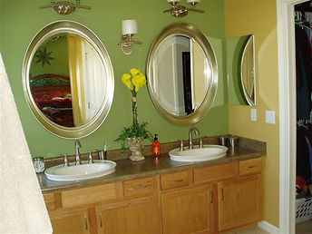 Colorful Bathroom Remodel