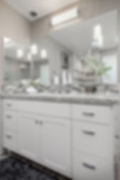 grey gray bathroom vanity sink