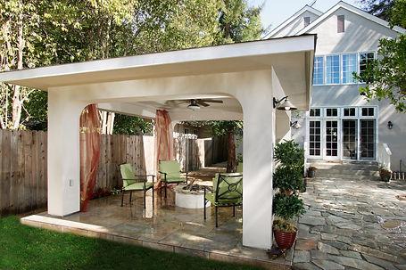 Backyard Retreat interior design