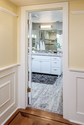 bathroom gray grey
