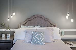 bed lights teen room gray grey